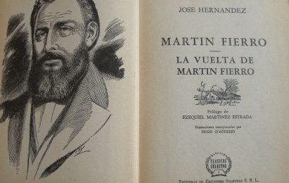 ¡Ha muerto el Senador Martín Fierro!