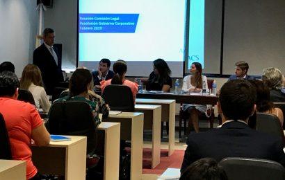 Reunión de la Comisión de Asuntos Legales de la AACS