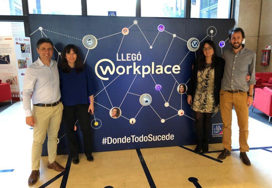La Caja se suma a Workplace