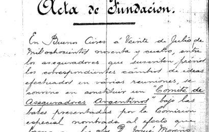 La Asociación Argentina de Compañías de Seguros cumple 126 años