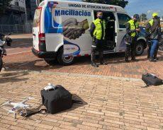 Colombia: drones atenderán los accidentes de tránsito en Bogotá