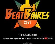 """La Caja acompaña vía streaming """"Beat Baires"""""""