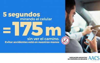 Accidentes de tránsito: el 60% se produce por las distracciones de los conductores